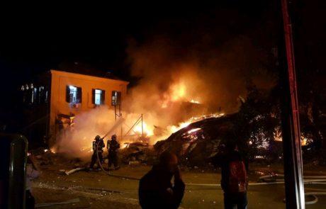 ארבעה הרוגים בפיצוץ חנות חומרי בניין ביפו