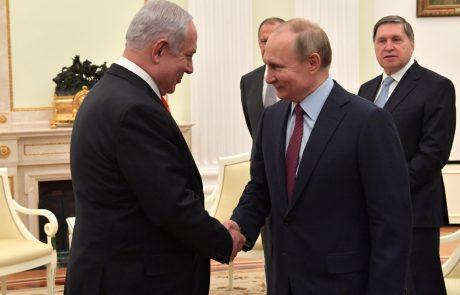 נתניהו נפגש עם פוטין לפני הטרמפ של נעמה יששכר