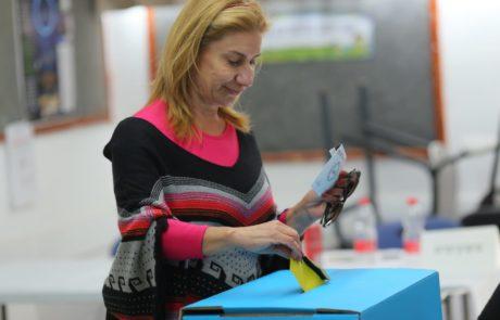 אחוזי הצבעה גבוהים באריאל נכון לצהרי היום