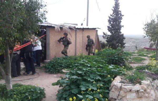דרום הר חברון – פיגוע דקירה  ביישוב חוות מור