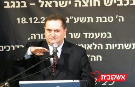 """השר כץ: ריבונות ביו""""ש מתחילה ירושלים"""