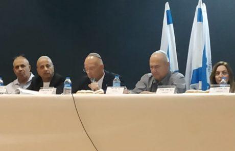 ישיבה ראשונה אחרי סערת הבחירות באריאל