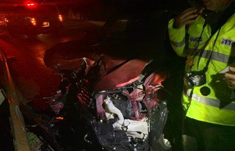 מכת התאונות: פצוע קשה ופצועה באורח קל בתאונה קשה בצפון