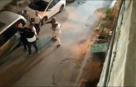 חברון : ניסיון לינץ' או שיטה של ערבים להטריד ולצלם?
