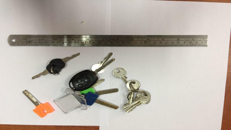 נתפסה חולית פורצים שנהגה להטביע מפתחות על גבי פלסטלינה