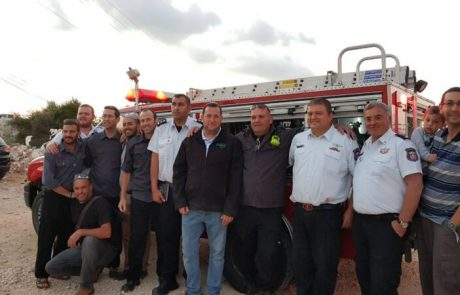 גאווה שומרונית: מתנדבי האש בשומרון