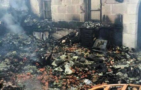 פשע שנאה -שריפה בכנסייה שבכינרת