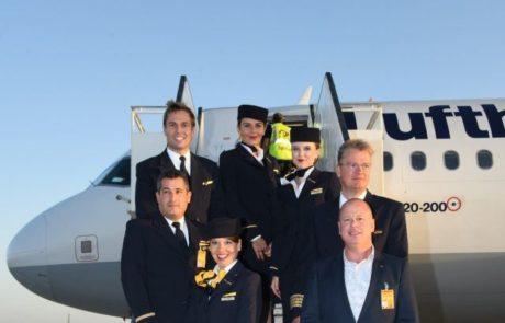 עונת טיסות החורף לאילת נפתחה היום בנחיתת מטוס לופטהנזה