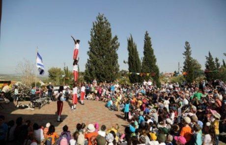 מבוא דותן-למעלה מאלפיים איש בחגיגת האביב