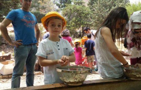 הגן הבוטני – שבת משפחתית חווית ילדות של פעם