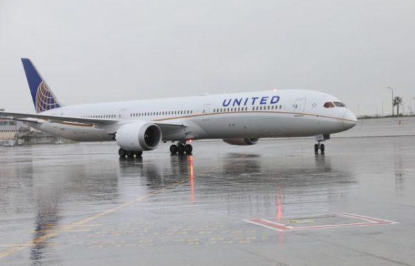מטוס 787-10 של יונייטד נחת בישראל