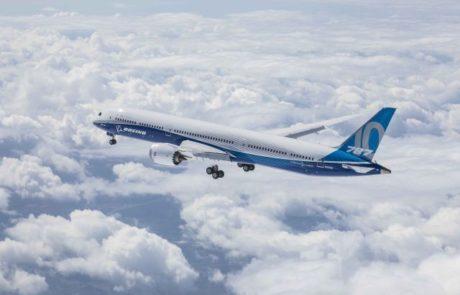הושלמה בהצלחה טיסת הבכורה של בואינג 787-10 החדש