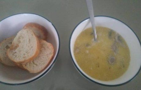 מרק חמאה ופטריות