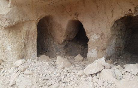 מערת קבורה יהודית מתקופת בית שני נבזזה בידי ערבים