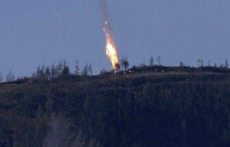 טורקיה יירטה מטוס קרב רוסי