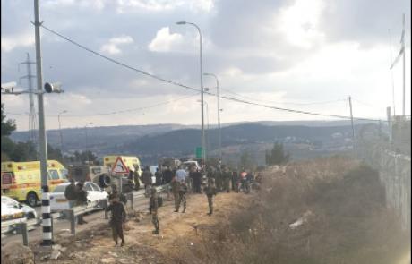 מחבל בן 15 נורה ברגלו כשניסה לדקור ישראלים בצומת הגוש
