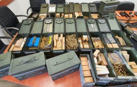 סליק תחמושת התגלה בביתו של מתנחל בן 40
