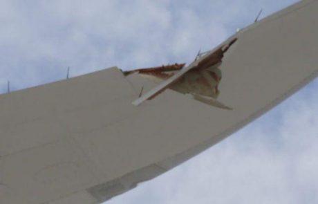 מטוס 787-9 של אל על נפגע בעת גרירתו בלאס וגאס