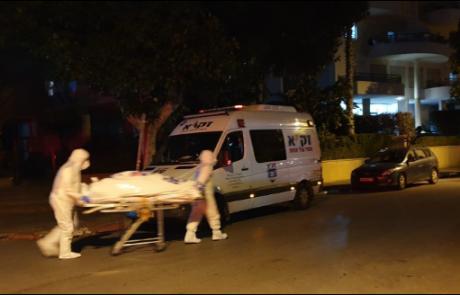 """מבודד קורונה מת מדום לב :זק""""א היו היחידים שהסכימו לטפל בגופה"""