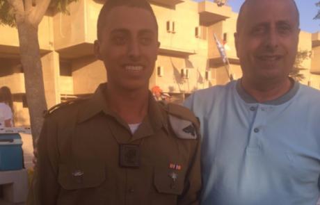 בין הקצינים הטריים דניאל טוהמי מאריאל