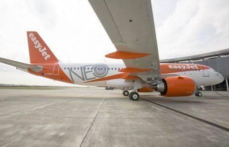 איזי ג'ט קיבלה את מטוס איירבס A320neo החדיש הראשון שלה
