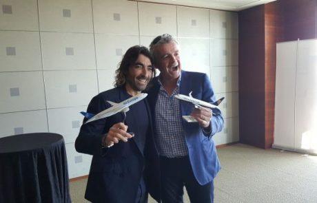 ריינאייר תמכור טיסות אייר אירופה טראנס אטלנטיות