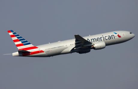 טל תעופה חוזרת לייצג את אמריקן איירליינס