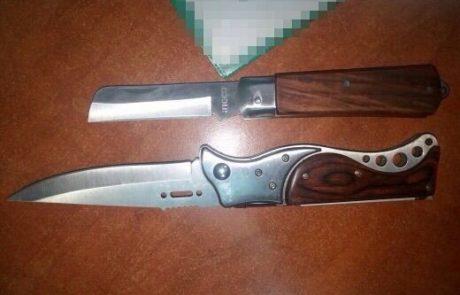 נעצרו עם סכינים במערת המכפלה