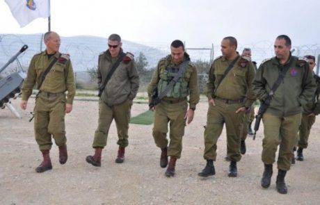 """ביקור ראשון של סגן הרמטכ""""ל באוגדת יהודה ושומרון"""
