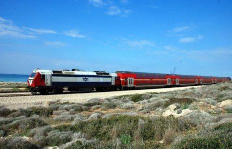 רכבת ישראל ממשיכה בעבודות לתיקון המסילה באזור שפיים