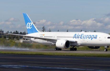 החל מהיום מפעילה אייר אירופה מטוסי 787 בקו לתל אביב