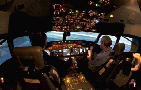 אל על חנכה אתמול סימולטור של בואינג 737