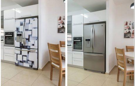 """חדש """"חיפוי מגנטי ייחודי לדלתות ומקררים"""""""