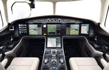 מערכת ראיה של אלביט הותקנה ב-Falcon 5X
