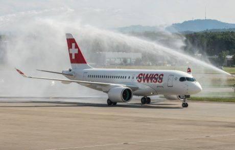 SWISS קיבלה לידיה את מטוס הבומברדייר הראשון מסדרת C
