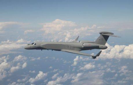 מטוס להתראה מוקדמת ובקרה אווירית ישראלי נמסר לאיטליה
