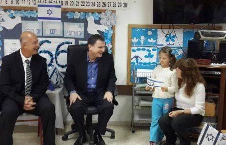 """יו""""ר הכנסת, יולי אדלשטיין ביקר היום בעיר אריאל"""