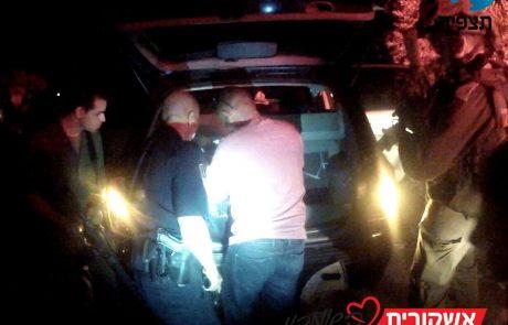 """נעצר בכיר ברש""""פ שתוי ועם אקדח"""