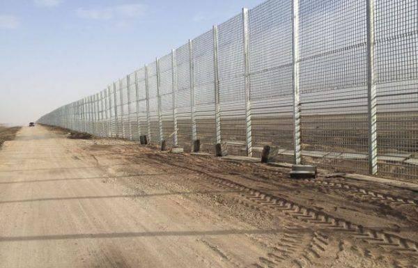 הקמת הגדר המזרחית תסתיים בסוף השנה