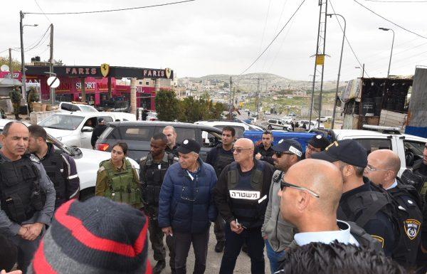 המשטרה ערכה מבצע אכיפה בכפר חיזמא