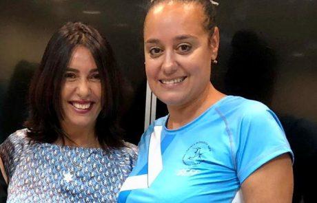 מרגש: קבלת פנים לרגינה דוידוב מאריאל בלשכתה של מירי רגב