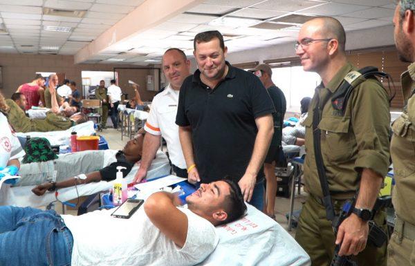 שבירת השיא הישראלי בתרומות דם מגיע דווקא מהשומרון