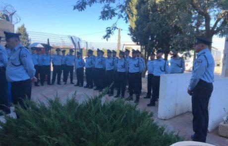 תחנת המשטרה באריאל עברה למשכנה החדש
