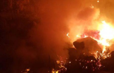 """הצתות ביו""""ש : במהלך החג טופלו מעל 20 שריפות"""