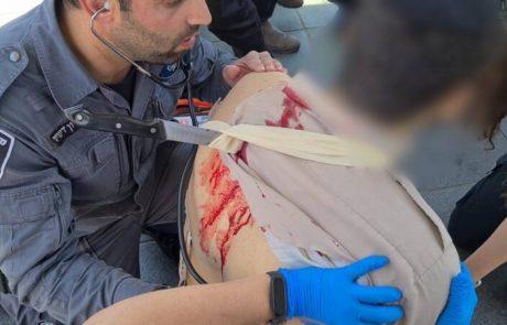פיגוע דקירה בירושלים : המחבל נוטרל