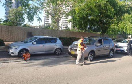 מצב הכבישים :ילד בן 7 נפצע באורח בינוני