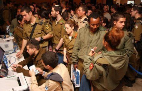 """אלף חיילים בודדים הגיעו הבוקר ל""""יום סידורים"""""""