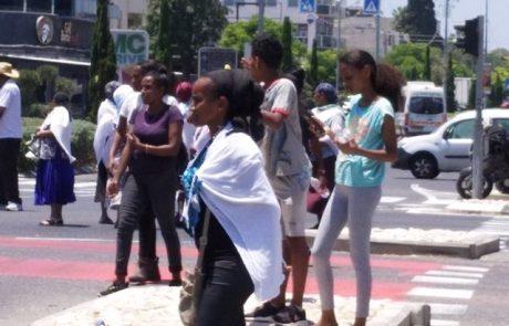 העדה האתיופית  לא מאמינה לממסד ולמשטרה