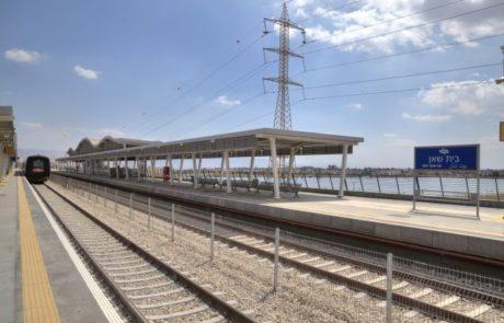 הופסקה תנועת הרכבות בין באר שבע לקריית גת