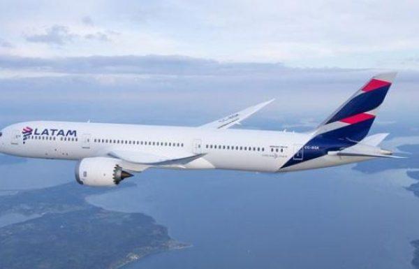 מטוס של קבוצתLATAM נחת לראשונה בישראל
